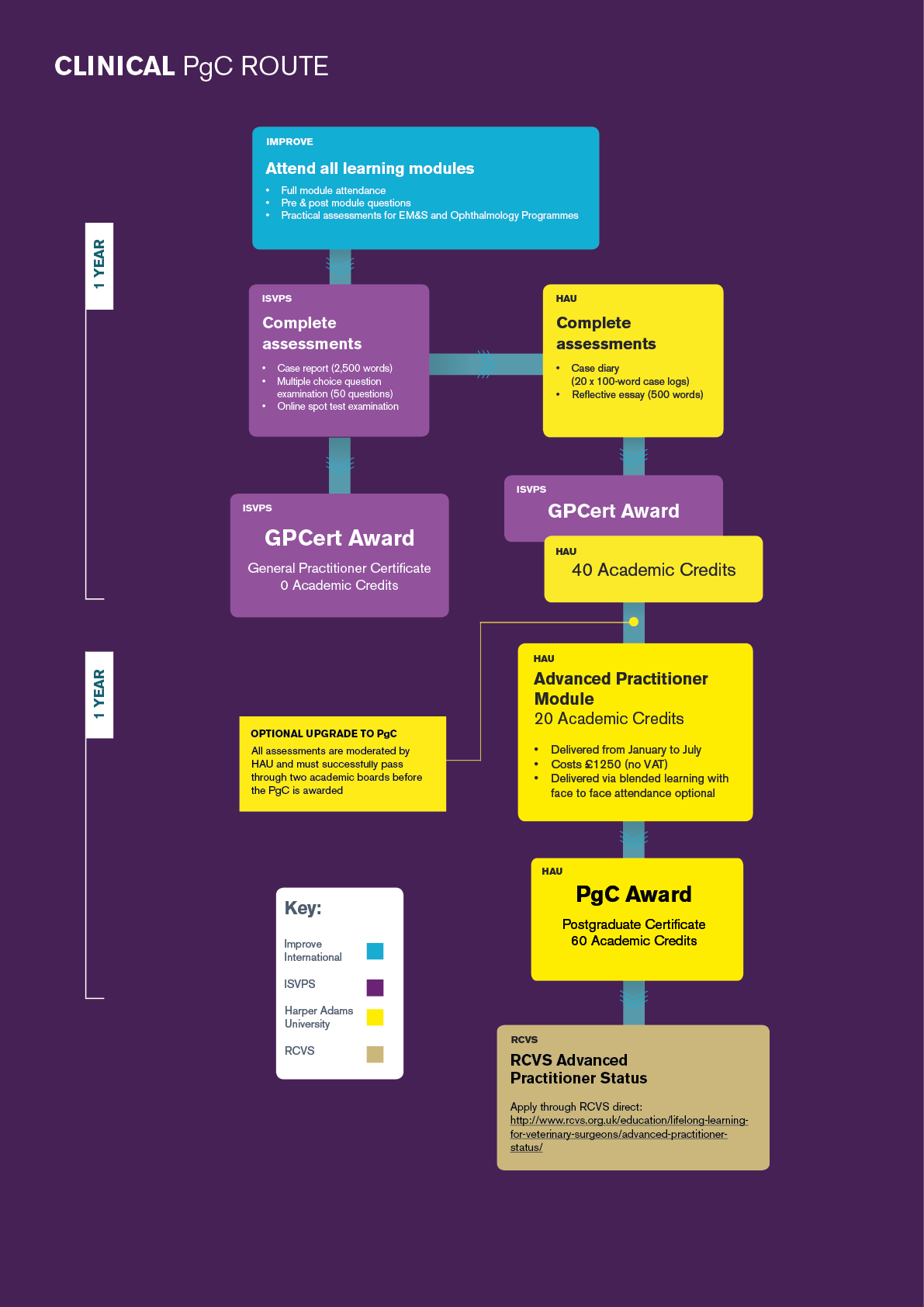 General Practitioner Certificate in Dermatology Flow Chart